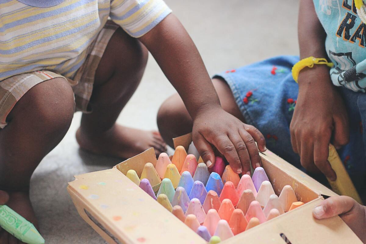 I giochi per i due anni - bambini