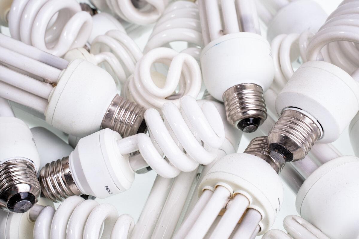 Lampadine riciclate - lampadine esauste