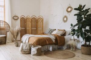 Mobili in bamboo - camera da letto