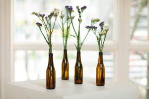 riciclo creativo bottiglie vetro