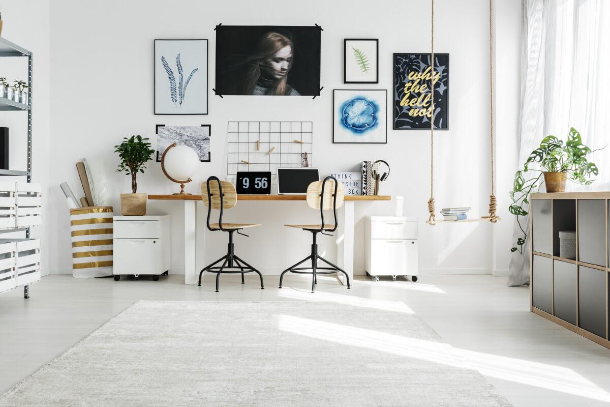 Postazione ufficio: le migliori sedie da lavoro per lo studio a casa