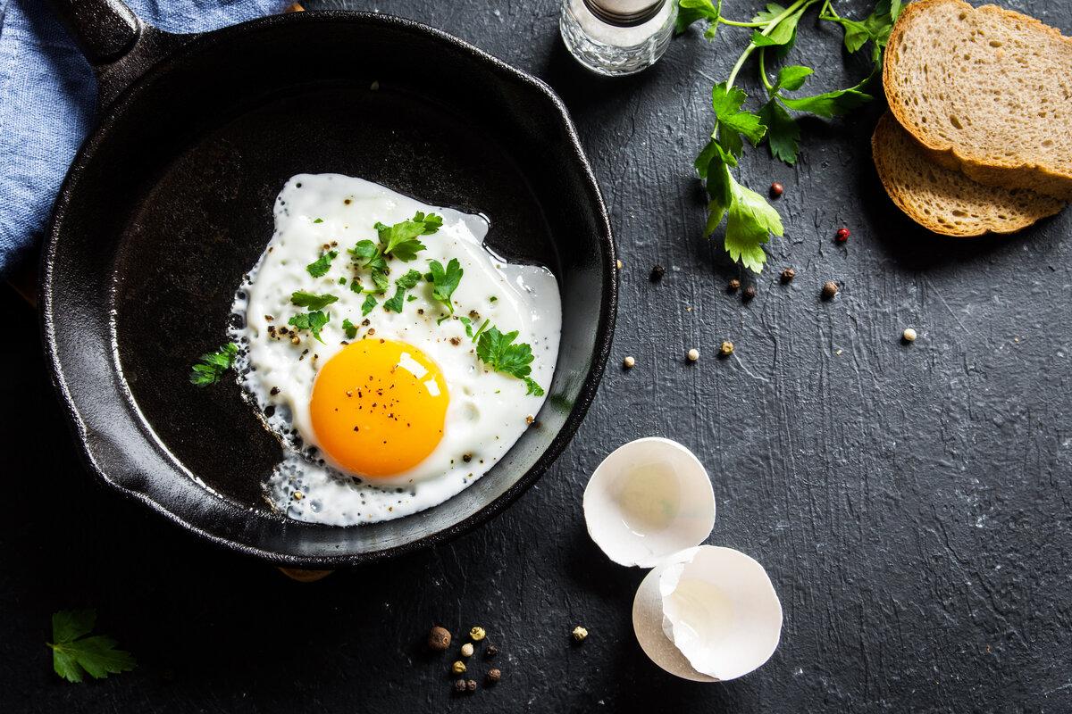 Uova e colesterolo - uova in padella