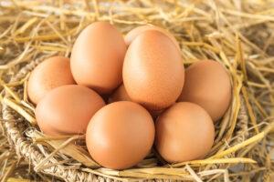 Uova e colesterolo - cesto di uova