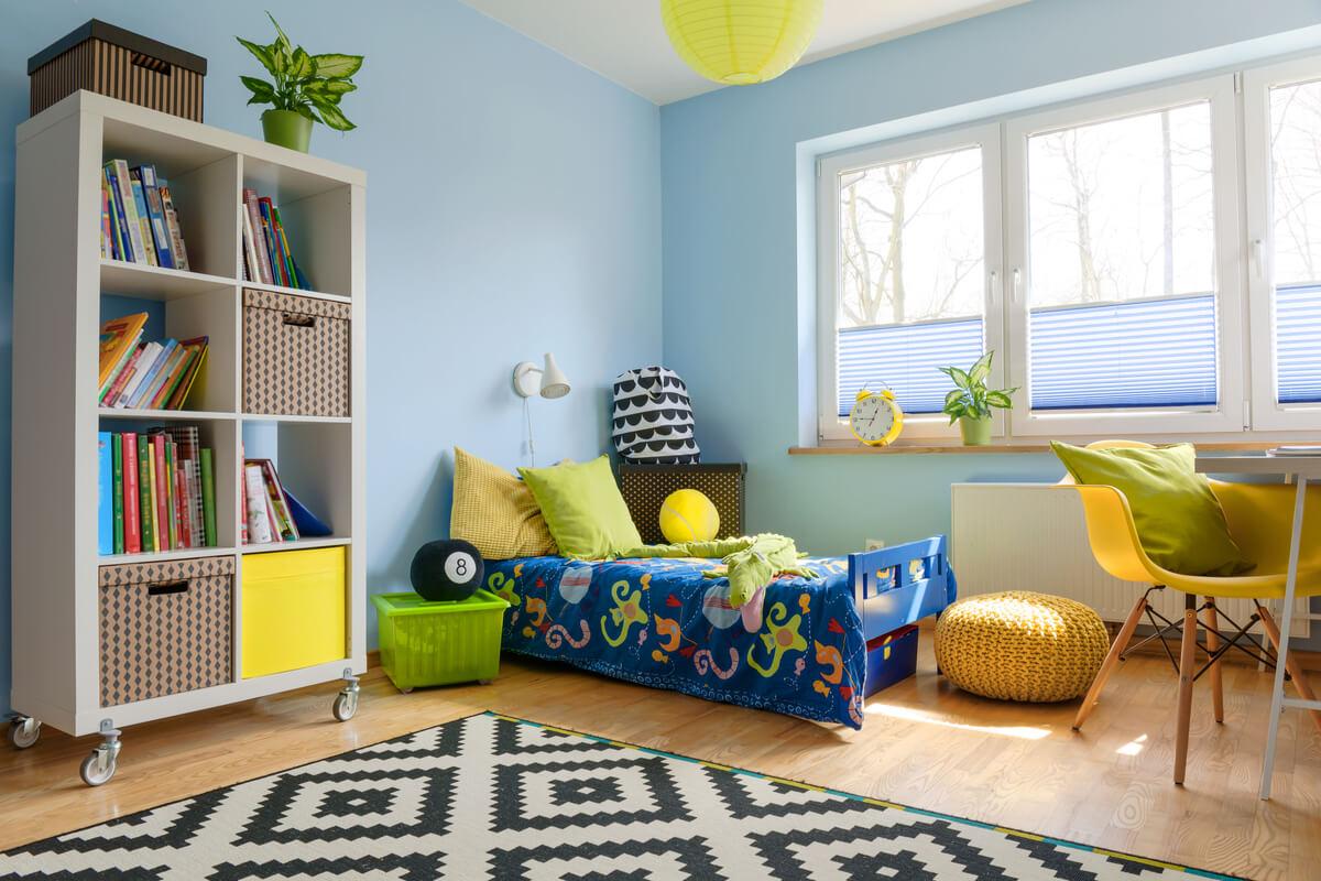 camera dei bambini - idee tessuti