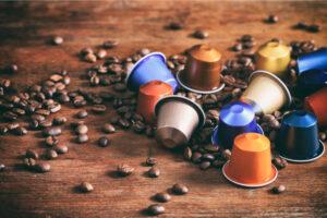 riuso capsule del caffè - casa sostenibile