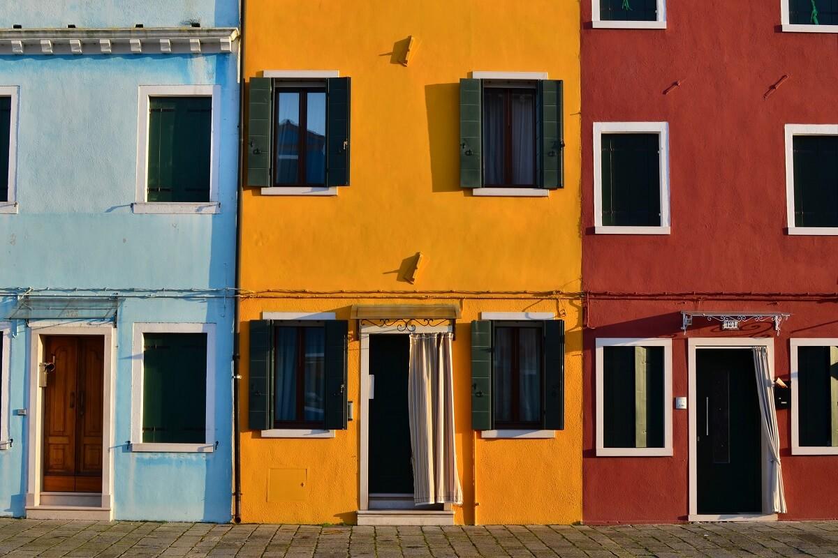 I luoghi con le case più colorate del mondo