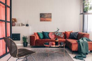 rifoderare un divano - tessuti per l'arredo