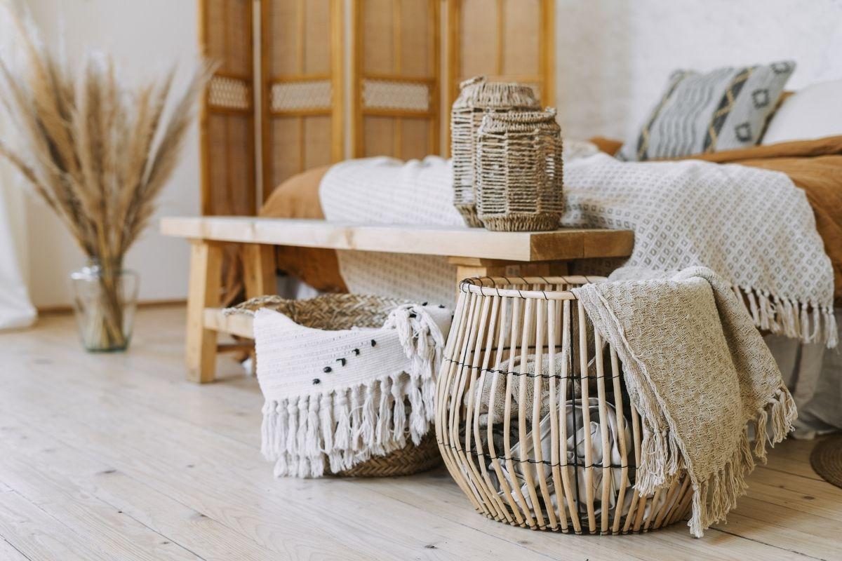 arredare la casa utilizzando il bamboo