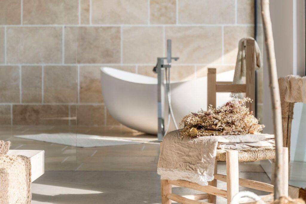 bagno tendenze 2021 cottage core