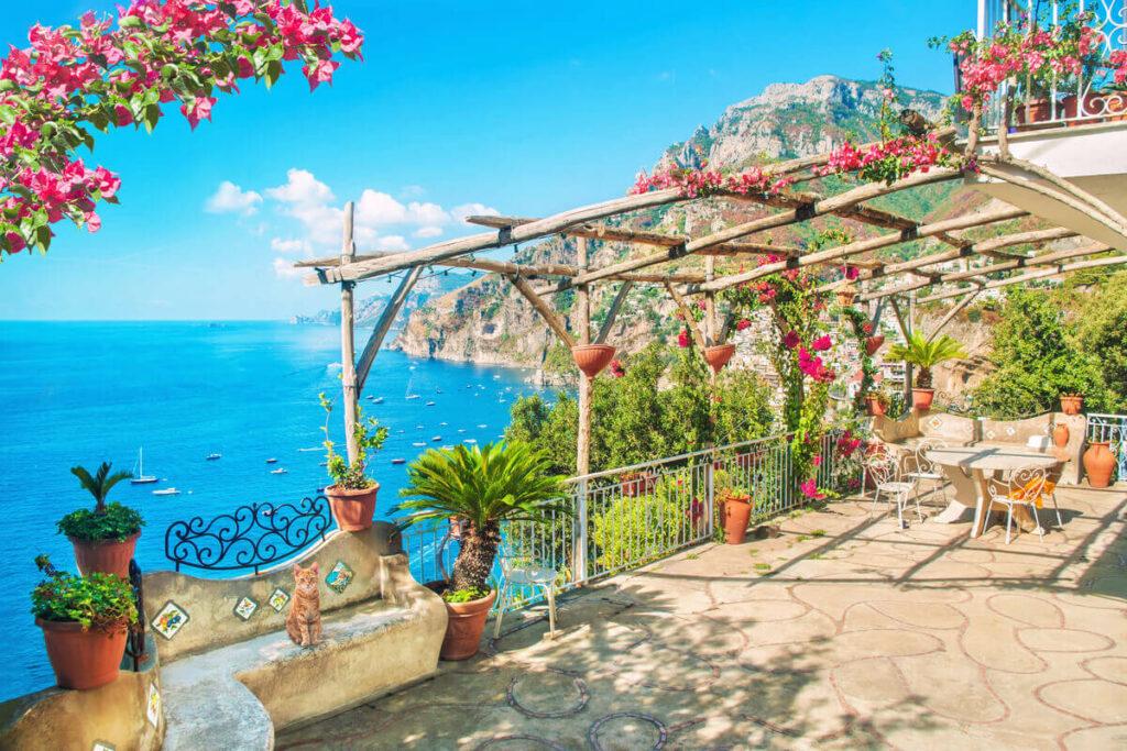 Il balcone stile mediterraneo