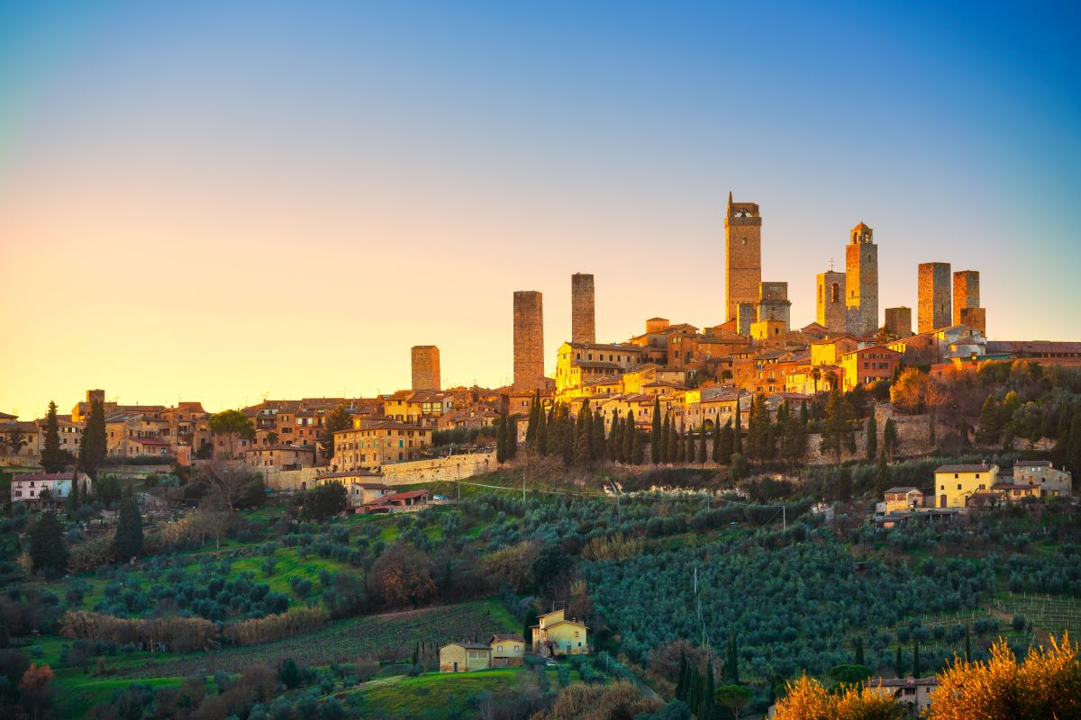 centro storico San Gimignano