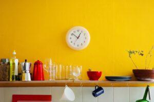 colore casa arredamento giallo