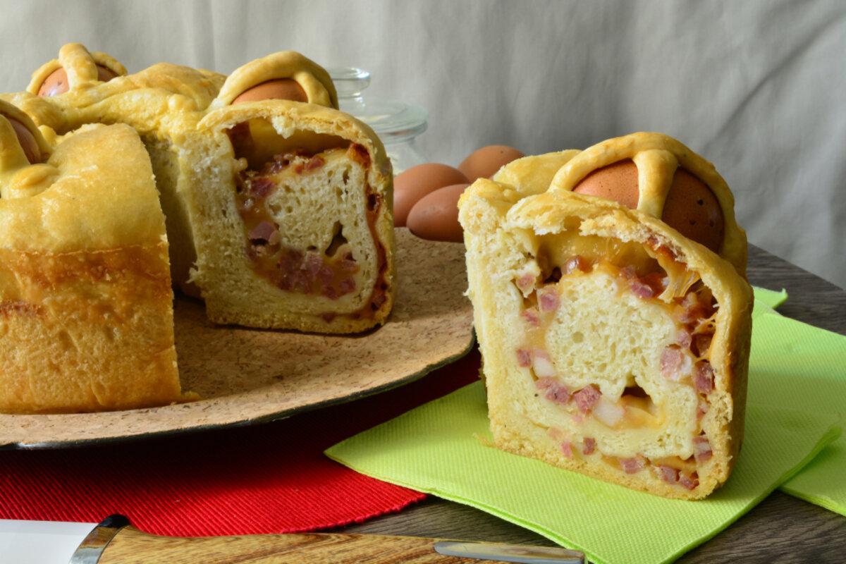 Pasqua ricette tradizionali - casatiello napoletano