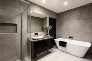 Piastrelle in bagno - arredo bagno