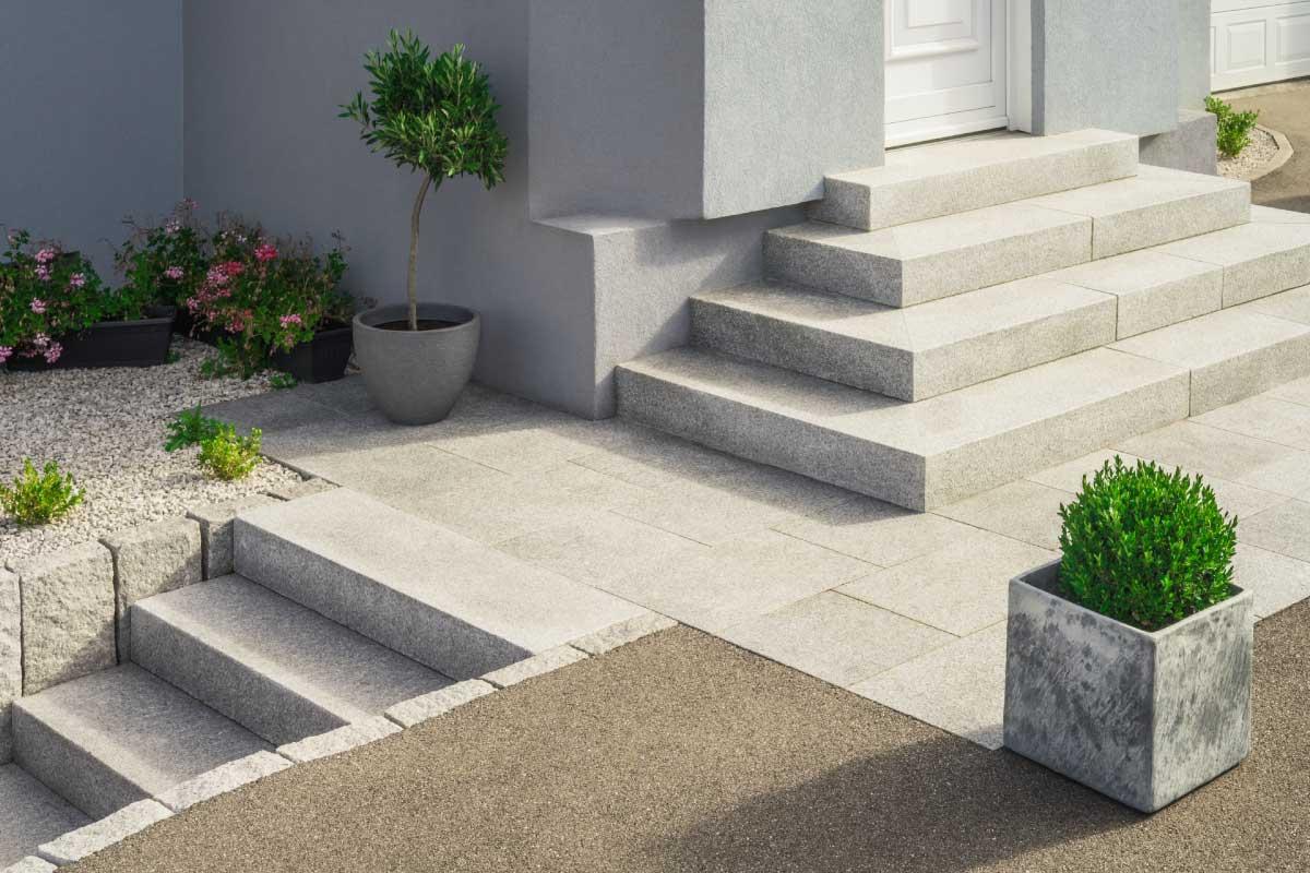 Costruire una scala esterna per la propria casa