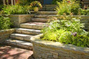 Costruire una scala esterna in pietra
