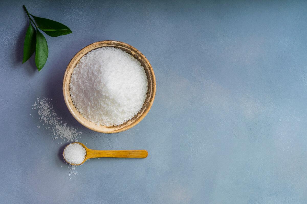 Quanto sale consumare - cucchiaino di sale