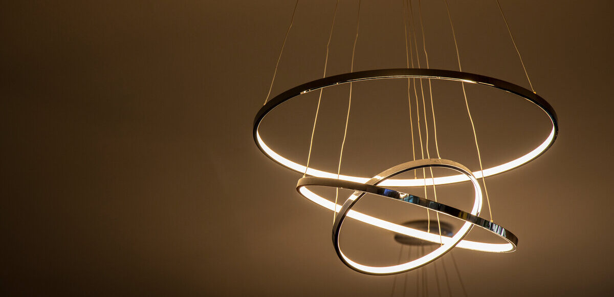 Sistemi di illuminazione sostenibili - lampadario