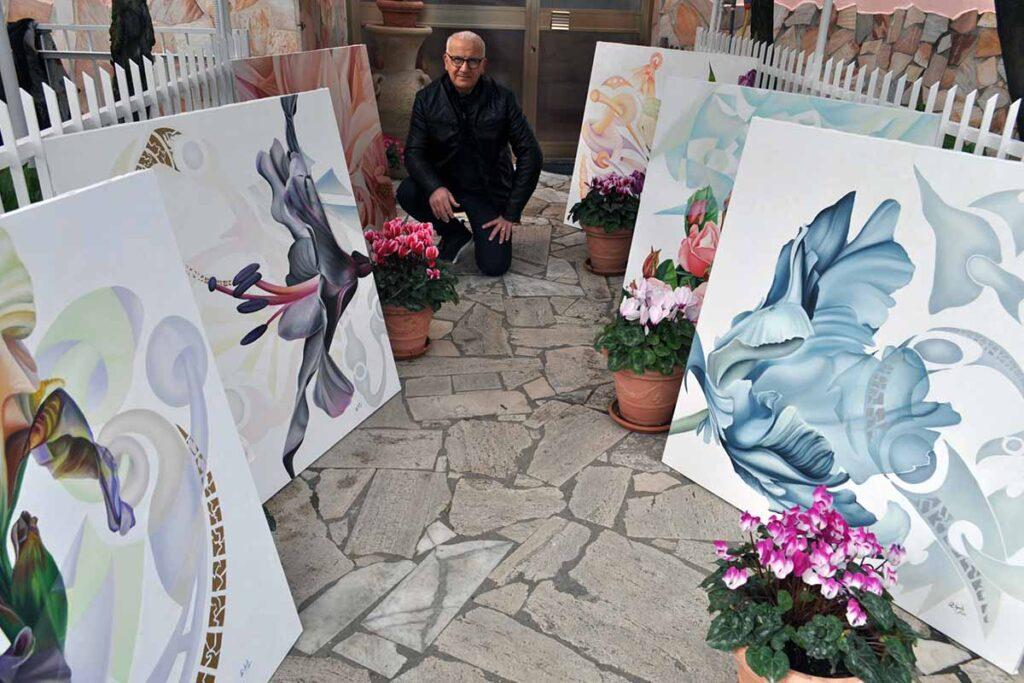 Raffaele Aprile, l'eleganza e la sinuosità della forma
