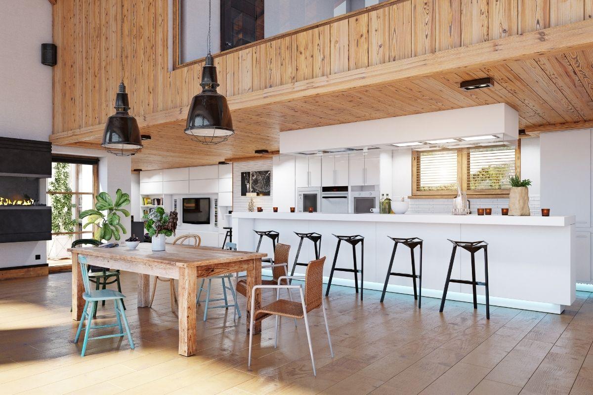 i legni migliori per fare una cucina