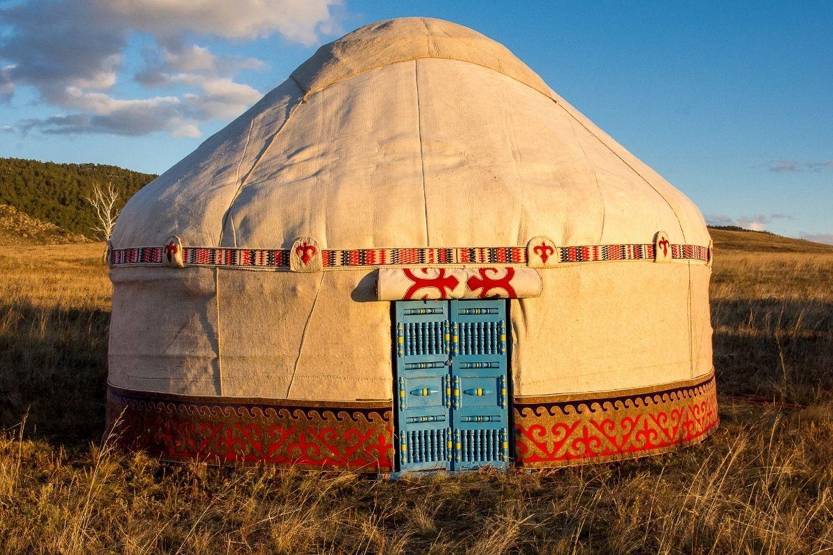 abitazioni nel mondo - yurta