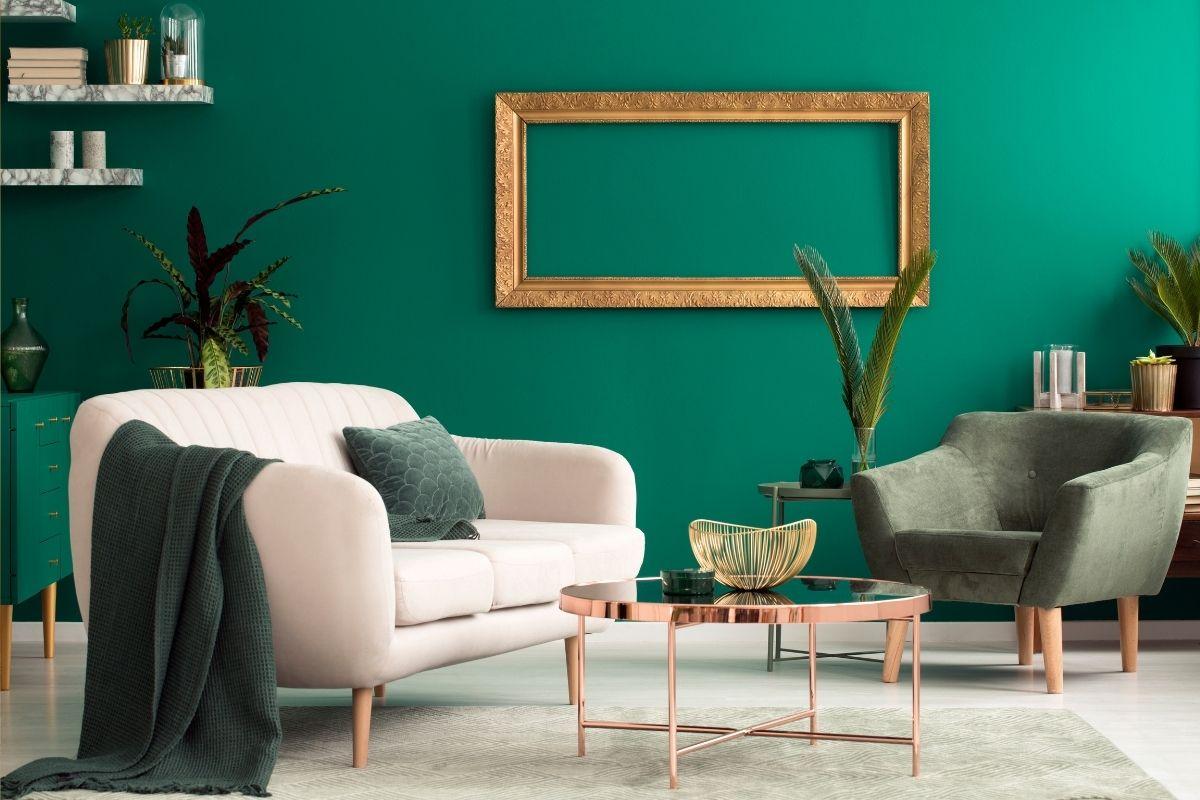 Arredare casa con il colore verde