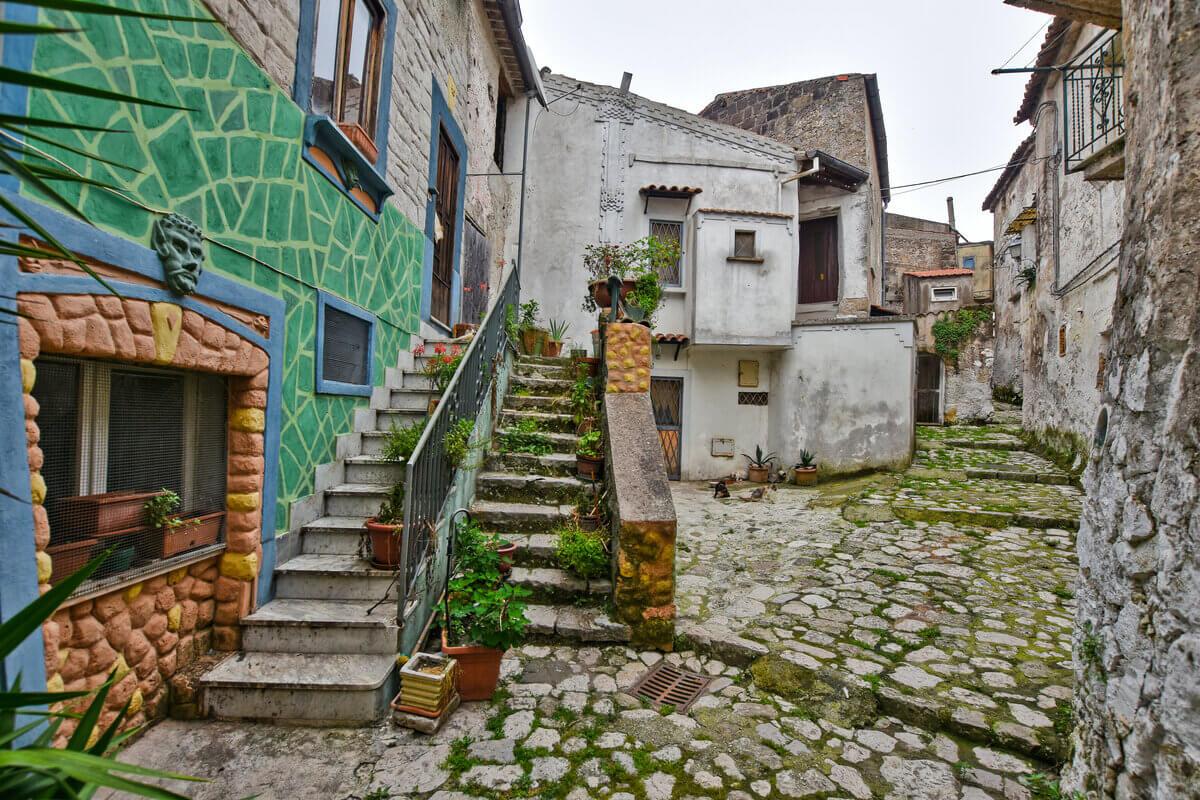 Case in vendita - borgo di Pietramelara