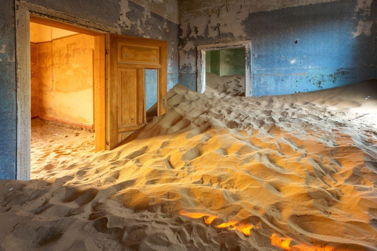 città abbandonata nel deserto Namibia