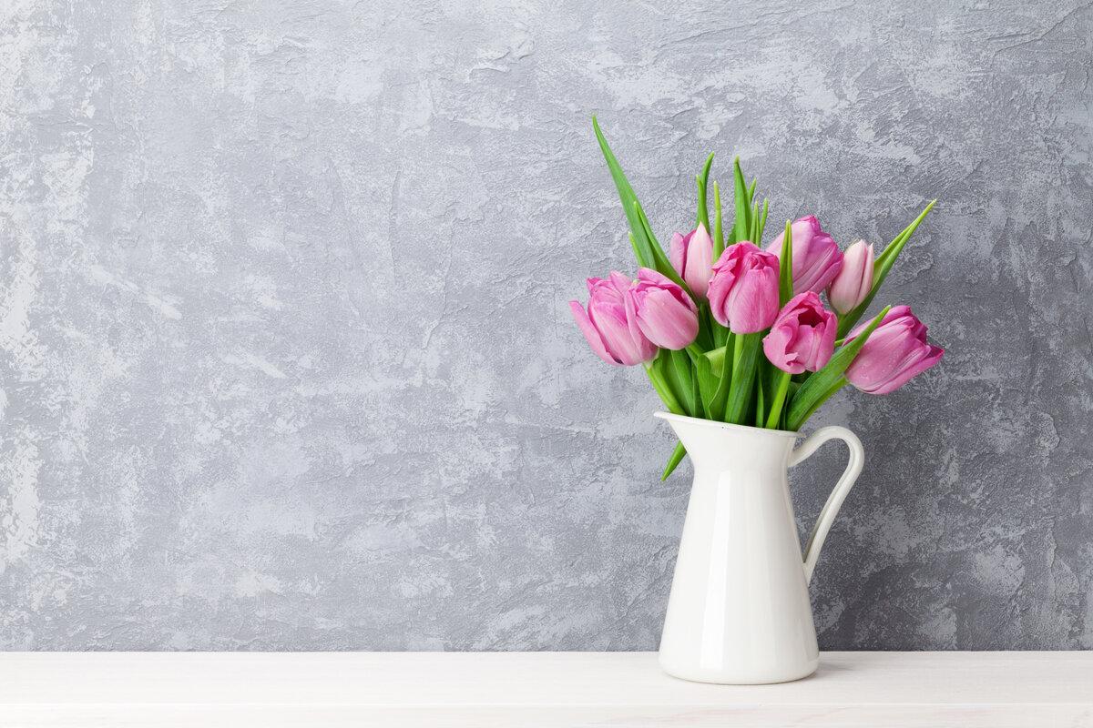 Fiori freschi in casa - tulipani