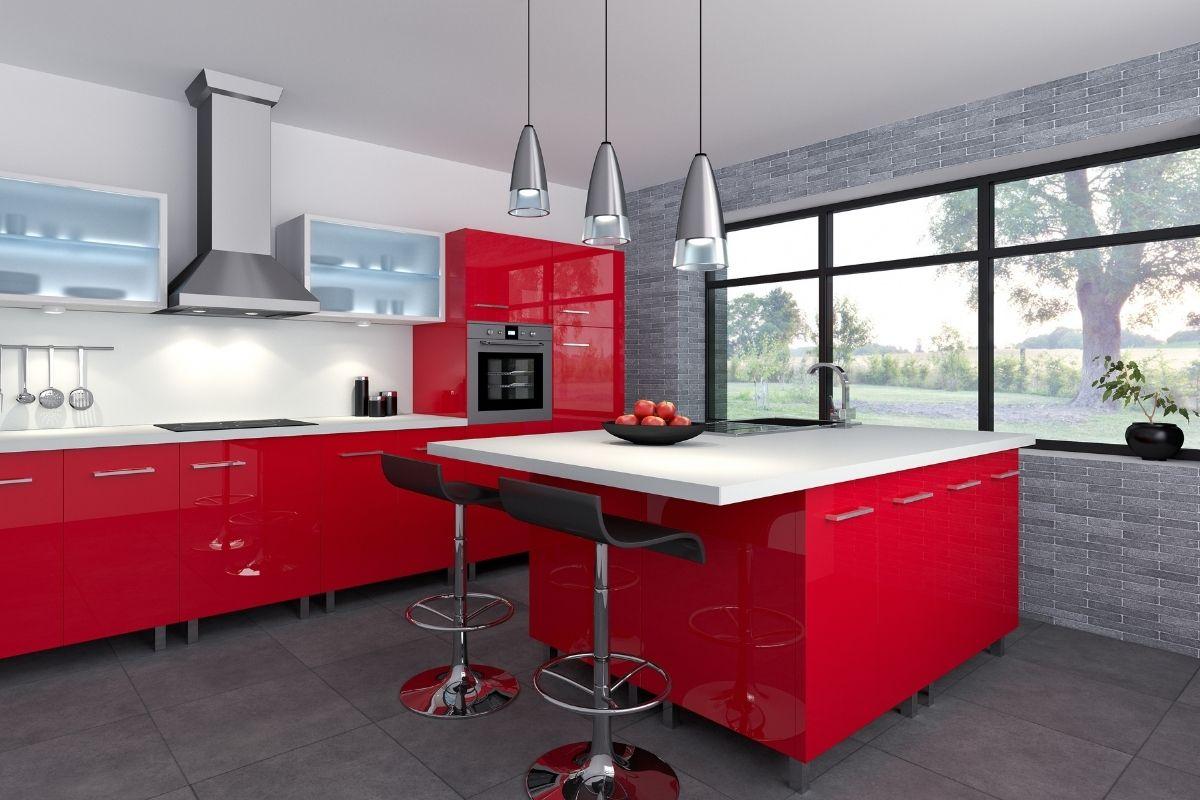 Arredare casa con il rosso