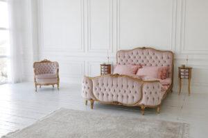 arredare con tessuti francesi - stile romantich chic