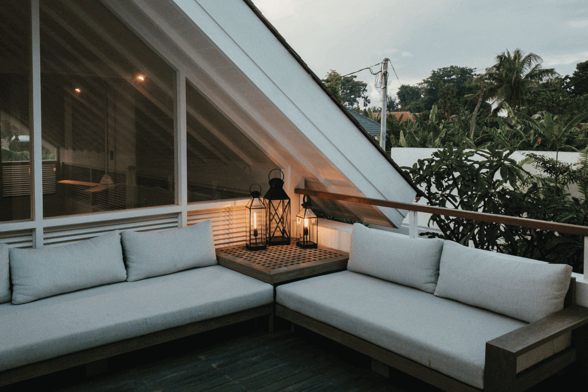 creare un terrazzo in mansarda per vivere gli spazi aperti
