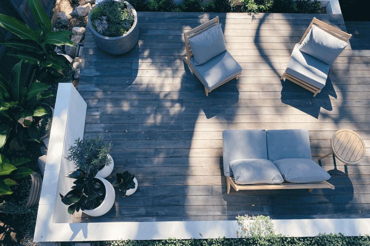creare un terrazzo in mansarda con tutti i comfort