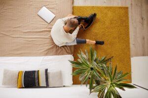 La camera da letto accessibile