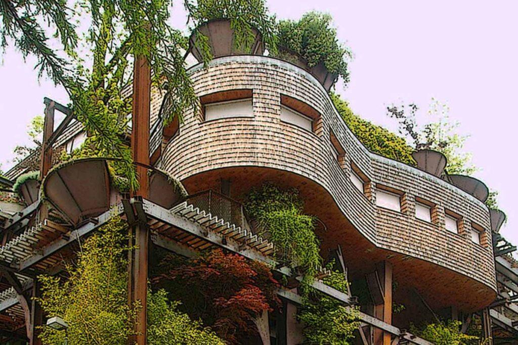 Le iniziative sostenibili nel mondo condominio 25 Verde, l'edificio foresta a Torino