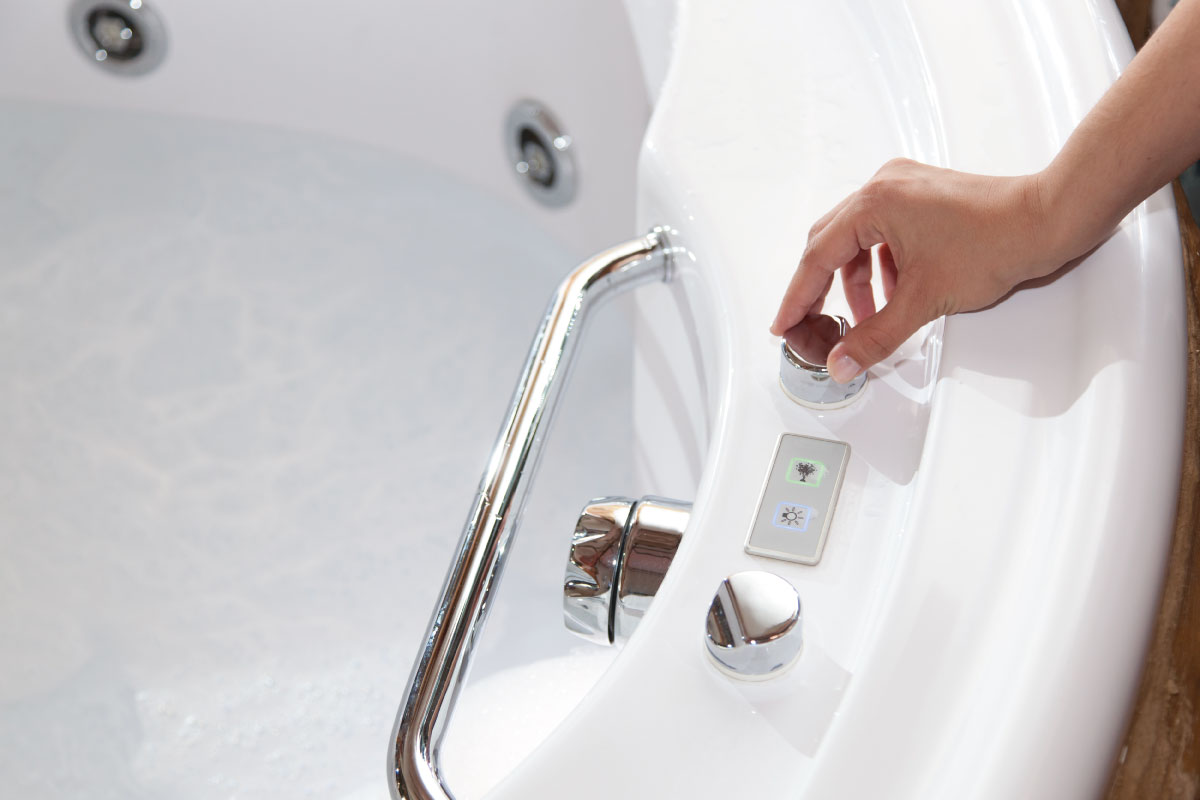 Come installare una vasca idromassaggio in casa come quella di una spa