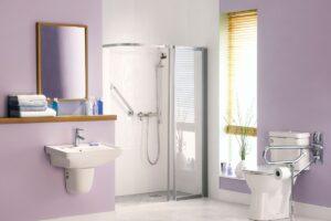 il bagno accessibile