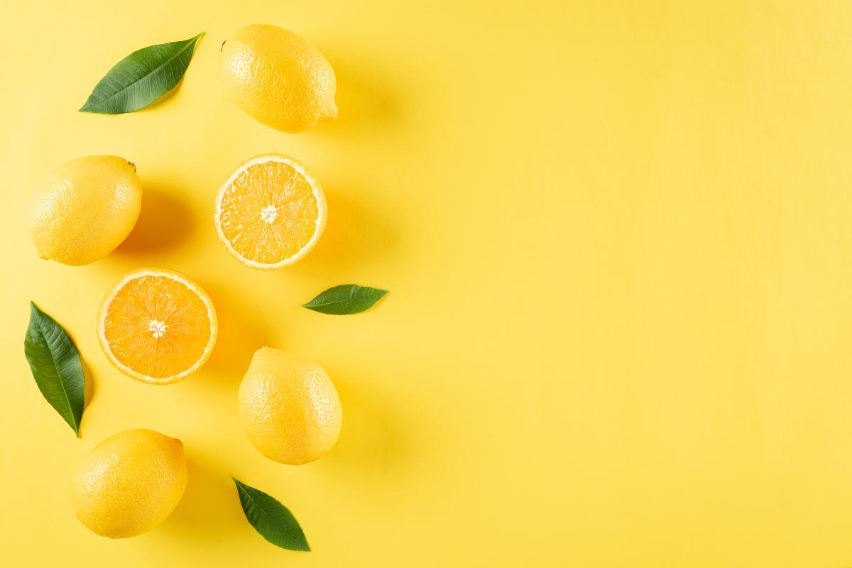 integratori scarti limone