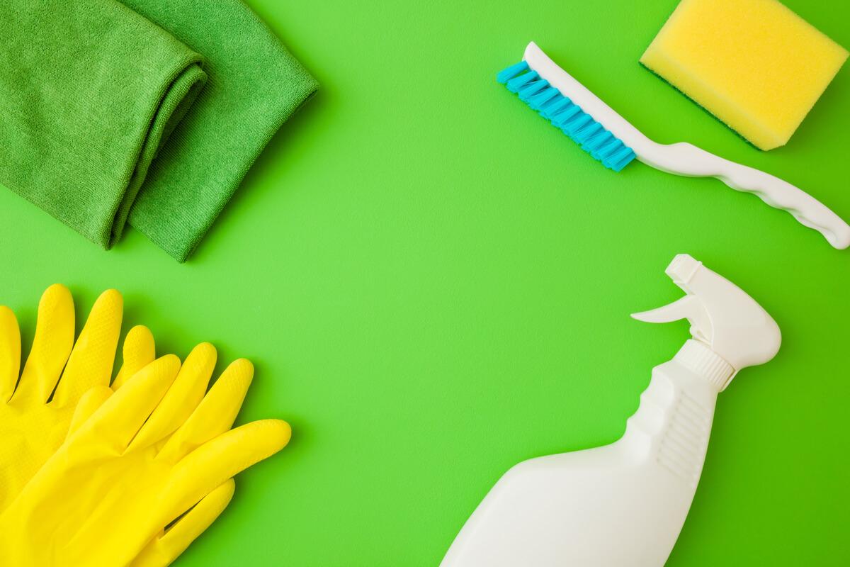 pulizie di casa eco-friendly - casa sostenibile