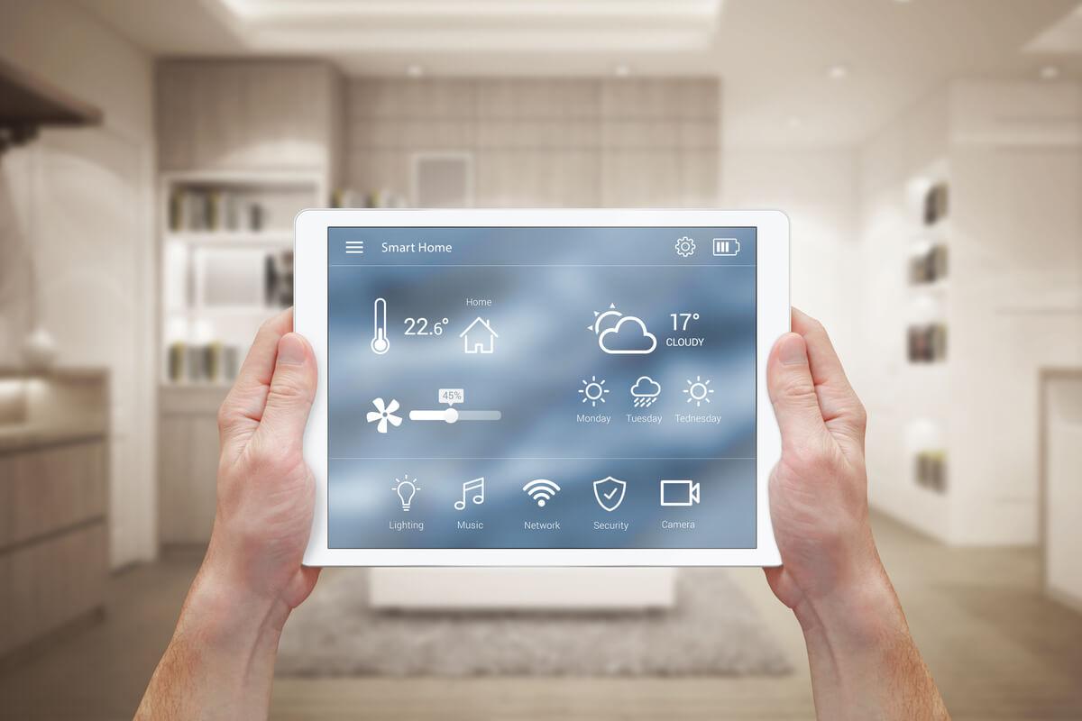 Smart home e sostenibilità - casa di domani