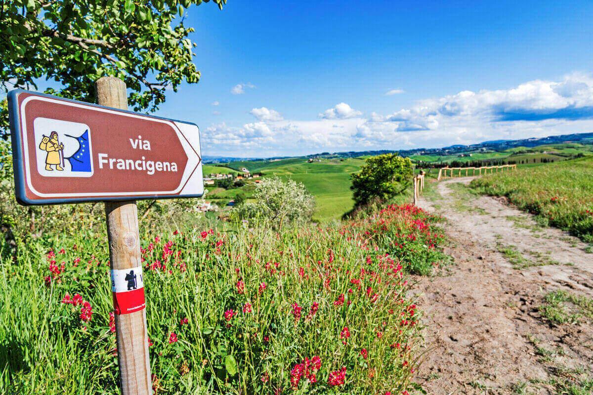 Trekking in Toscana - Via Francigena