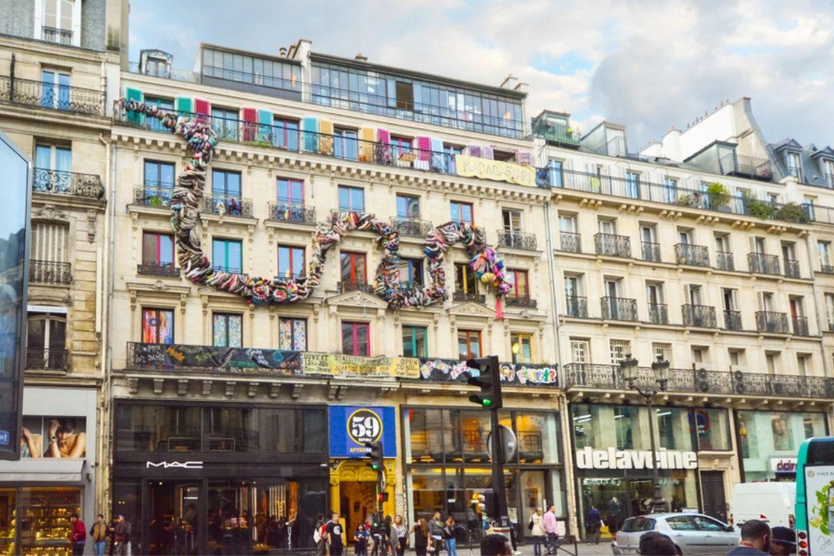 59 rivoli Parigi esterno