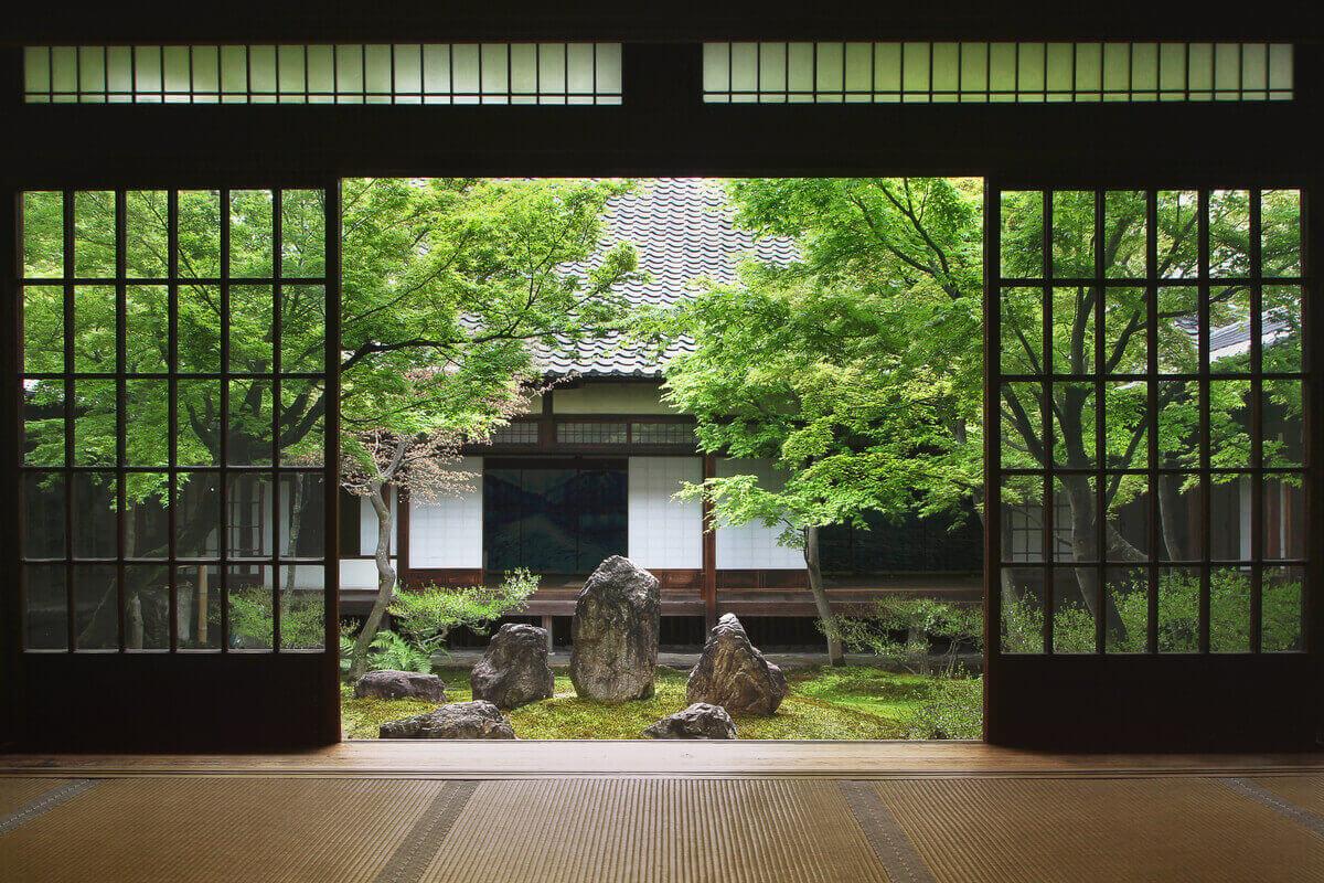 casa da tè giapponese