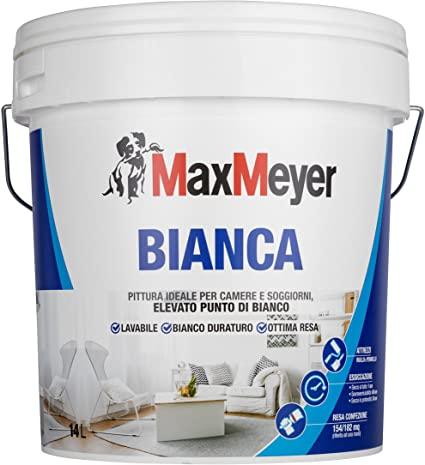 MaxMeyer, la pittura lavabile bianca, adatta a camere e soggiorno