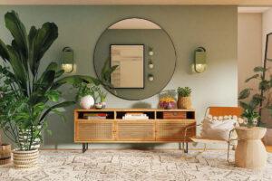 Tendenze d'arredo per la Casa Estiva 2021 tra colori e arredi