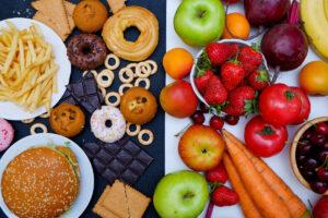 Cibo industriale e cibo naturale