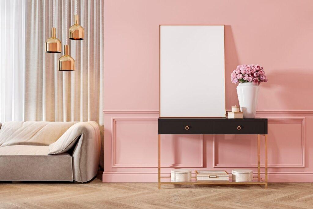 la casa rosa arredamento design colore