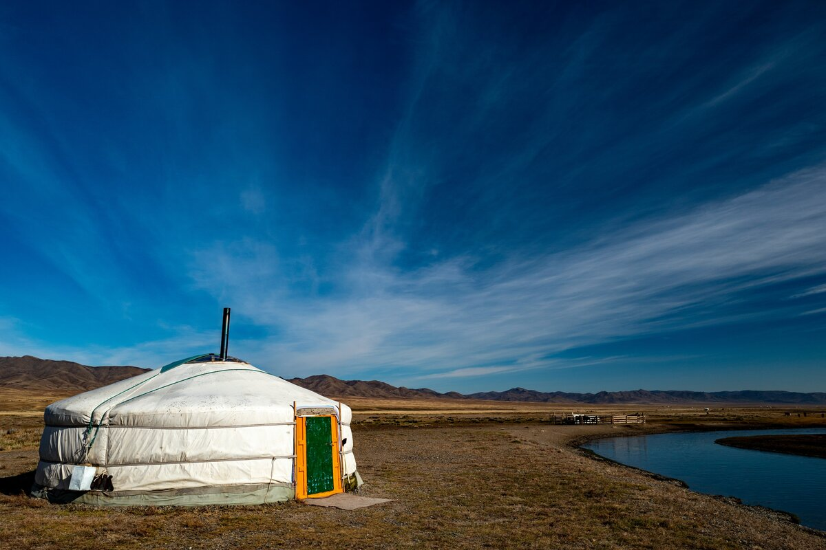 Tipologie di case - yurta