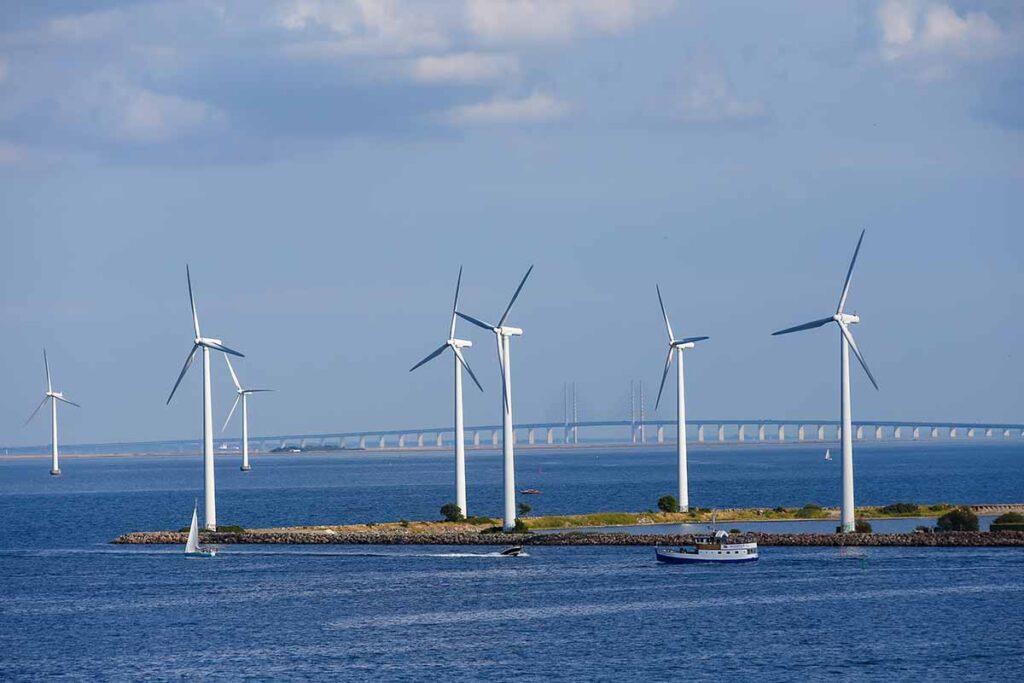 In Danimarca le due isole artificiali per produrre energia elettrica
