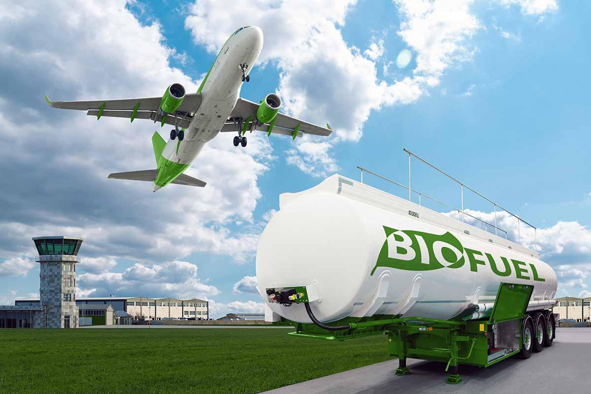 Le iniziative sostenibili nel mondo aerei alimentati con olio da cucina e tabacco